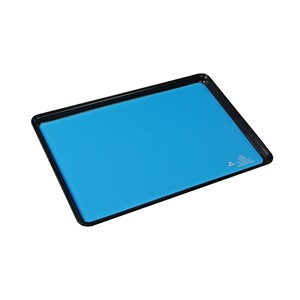 10924-MAT, DISSIPATIVE RUBBER, BLUE, 16'' x 24''