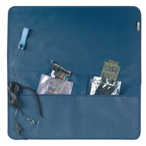 18575-WESCORP FIELD SERVICE KIT, BLUE, 2 POCKET, 24''x24''