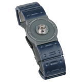 WP-2063-WRISTBAND, DUTY-WATCH, SINGLE,  ADJ, SM/MED, 7MM SNAP STUD