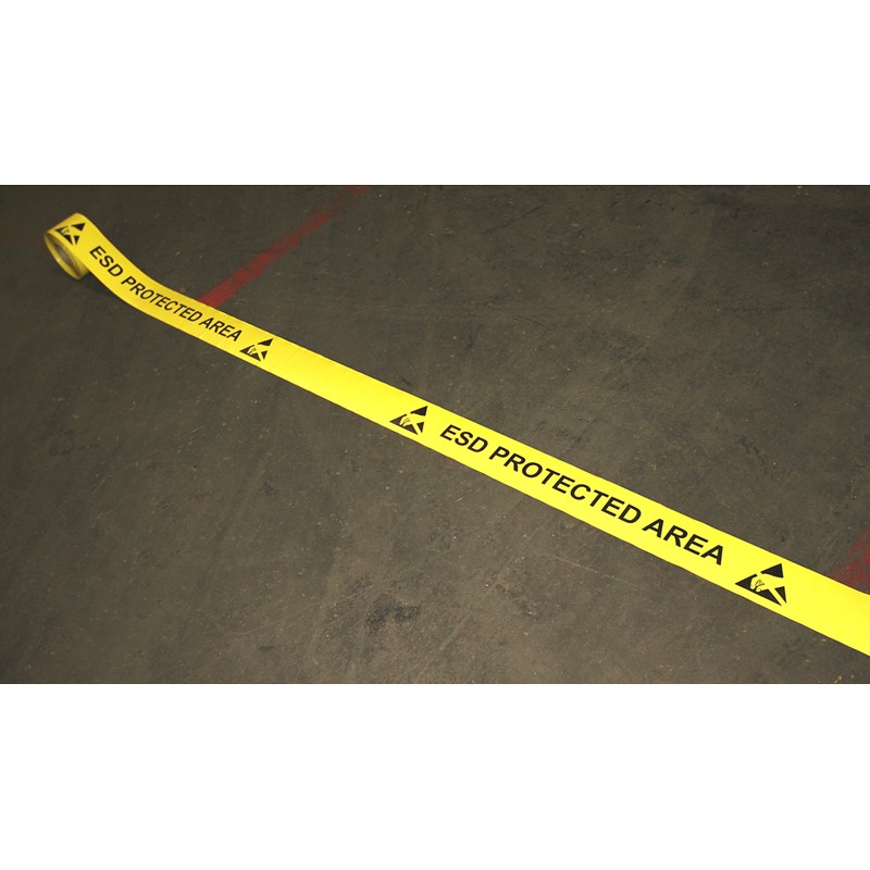 10900-DURASTRIPE ESD PROTECTED AREA TAPE, 2'' x 50'
