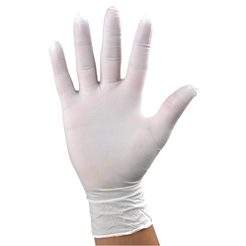 17123-GLOVES, NITRILE, DISSIPATIVE, 9'', X-LARGE, 100 PER PACK