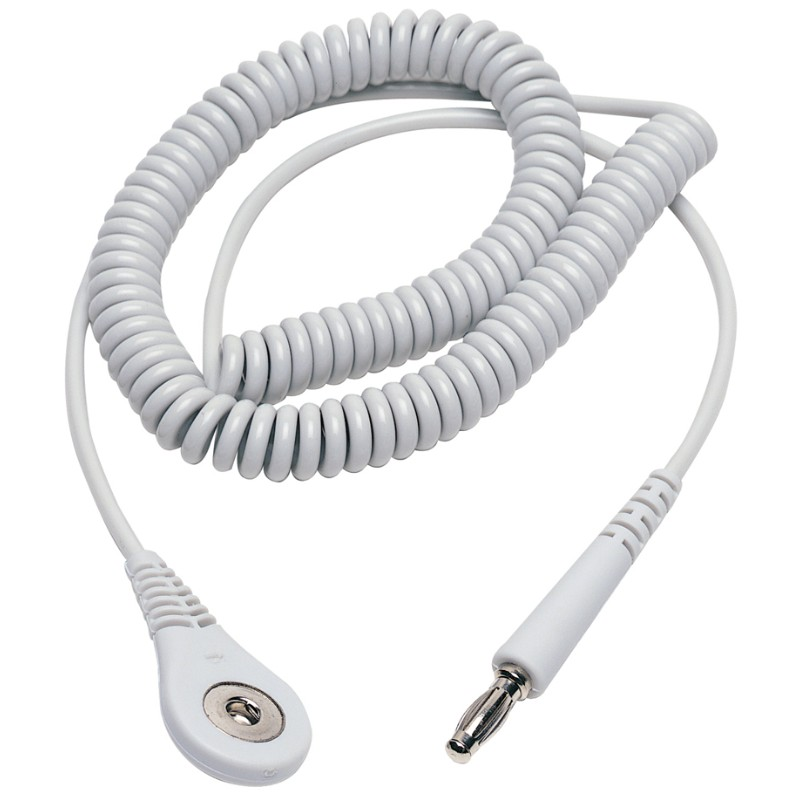 23600-CORD, COIL, GREY, 6', 4MM SOCKET