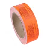 63780-LABEL, WARNING, RED, 3 IN X 1.5 IN, 500 PER ROLL