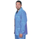 73772S-SMOCK, STATSHIELD, JACKET, KNITTED CUFFS, BLUE, 4XLARGE
