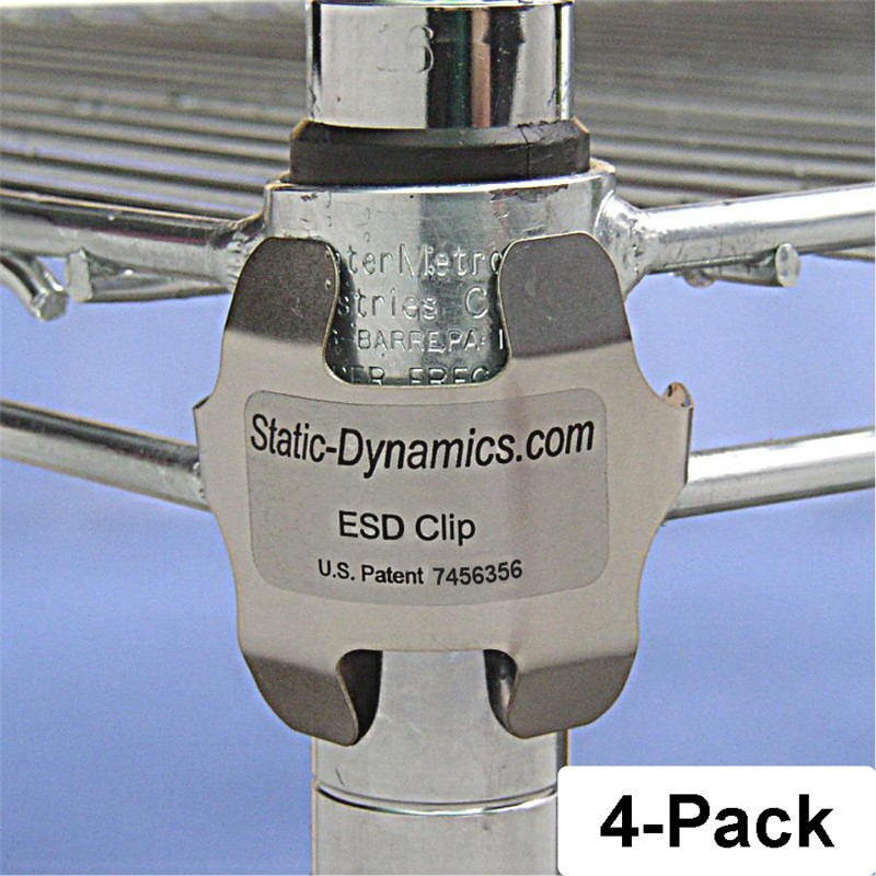 ESDC-4-ESD CLIP, 4 PACK