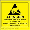 LABEL, ATTENTION, RS-471 SPANISH 2'' x 2'', ROLL OF 500