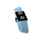 WRISTBAND, DUAL, ADJUSTABLE, WOVEN, 4MM STUD